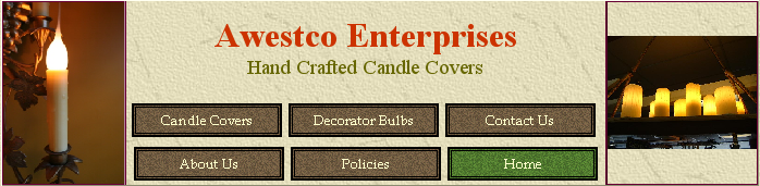 Awestco Custom Candle Sleeves